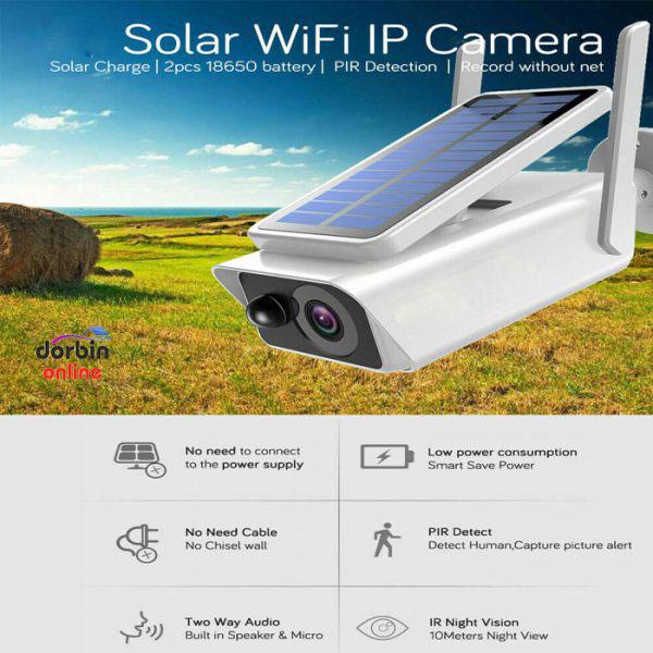 دوربین پنل خورشیدی